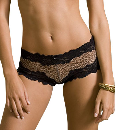 Lunaire Whimsy, Barbados Sexy Basic Boy Short 15232 - FREE Shipping :  lingerie boy shorts black lace lace